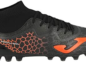 Joma Propulsion 4.0 AG, Bota de futbol, Black-Orange